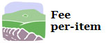 fee per-item graphic